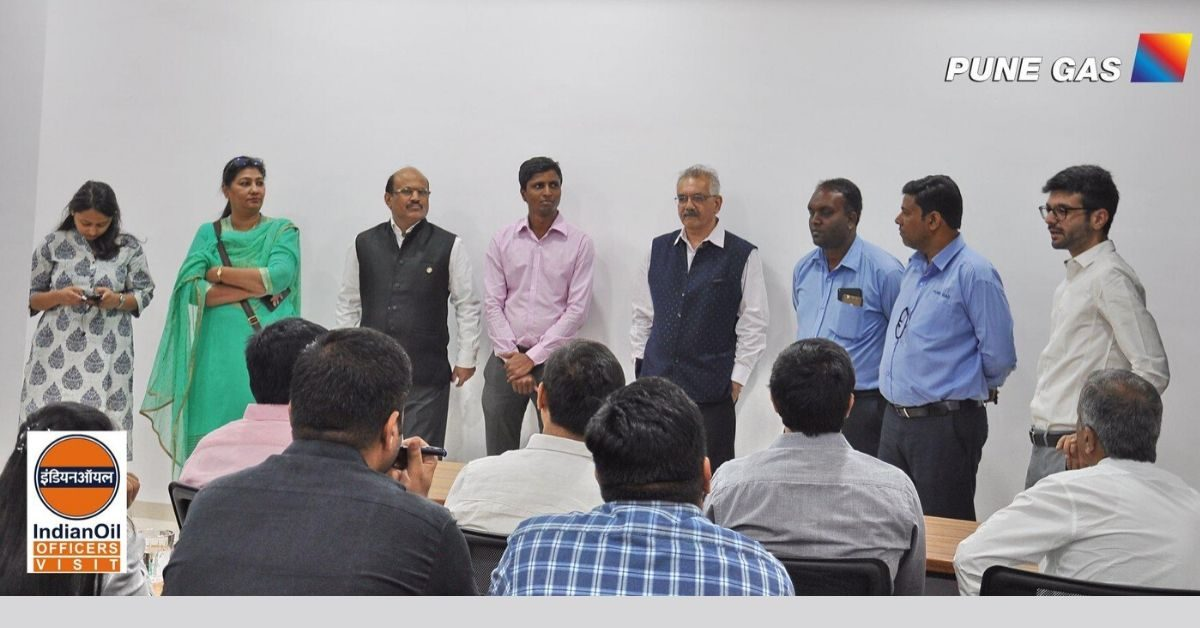 Pune Gas conducts training seminar for the staff of Indian Oil Corporation Ltd.